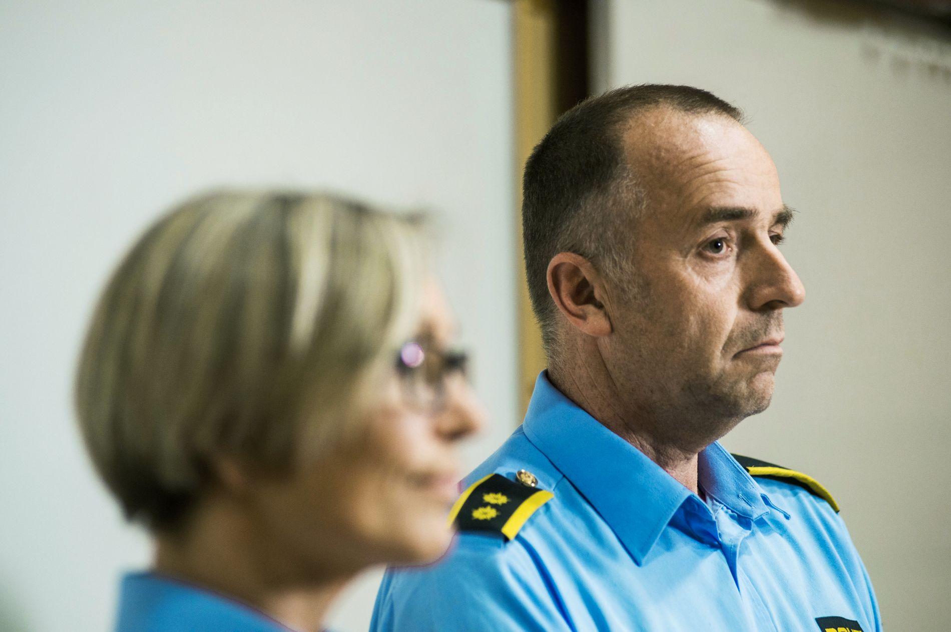 NY INFORMASJON: Sperringene i sentrum av Varhaug ble gjort basert på informasjon som har dukket opp i løpet de siste to dagene, opplyser etterforskningsleder Bjørn Kåre Dahl.