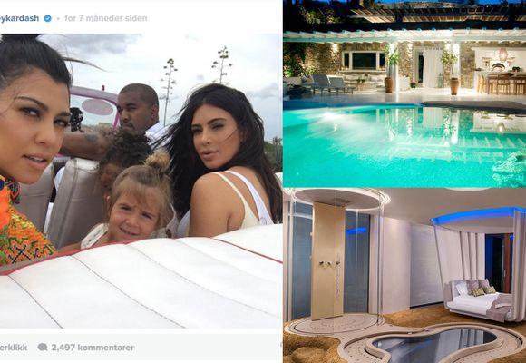Kardashian-familiens villeste luksusferier