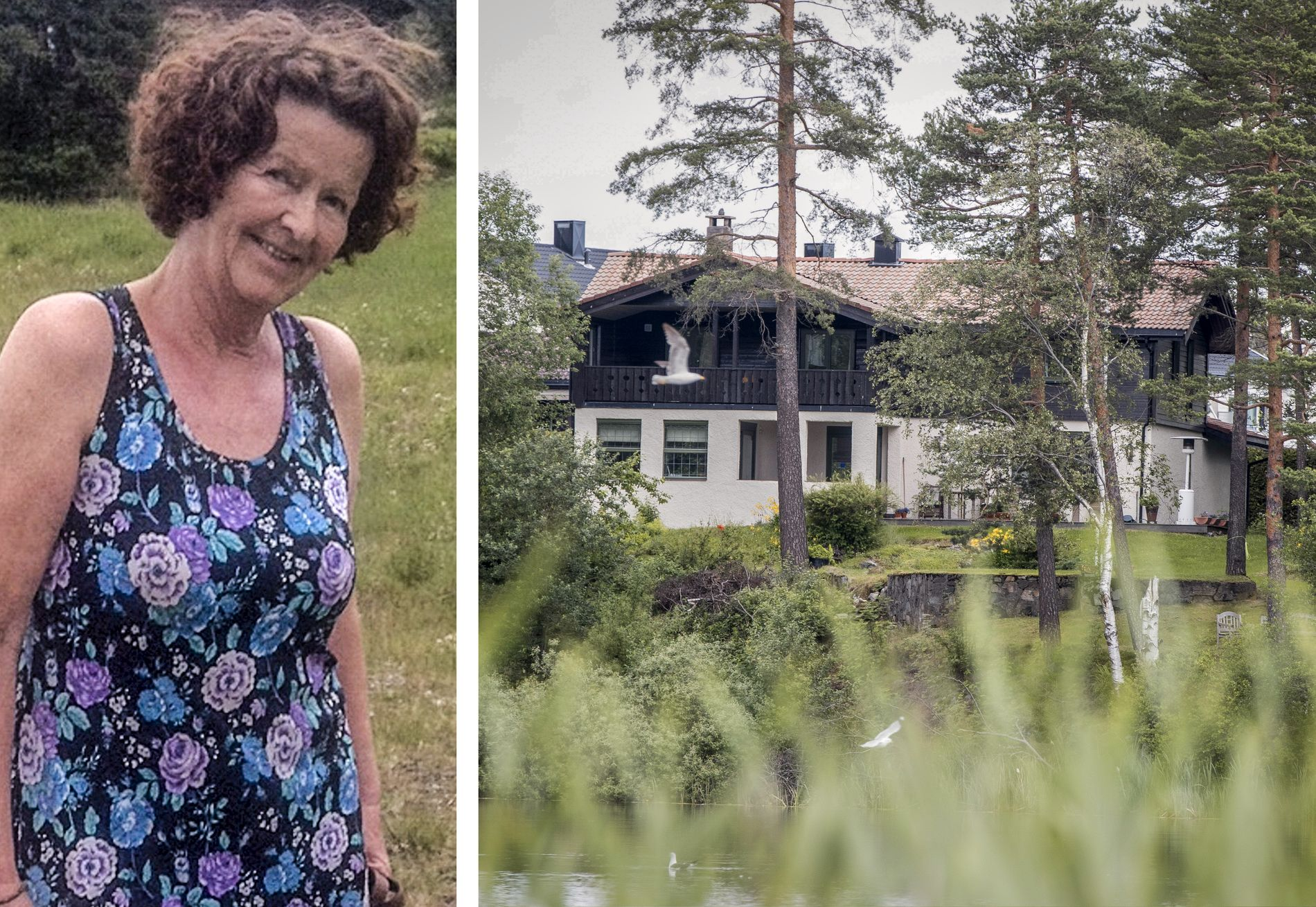 ÅSTEDET: Politiet sier at det er en sentral oppgave å finne ut hvem som oppholdt seg på åstedet i Sloraveien på Lørenskog 31. oktober i fjor, da Anne-Elisabeth Hagen forsvant.
