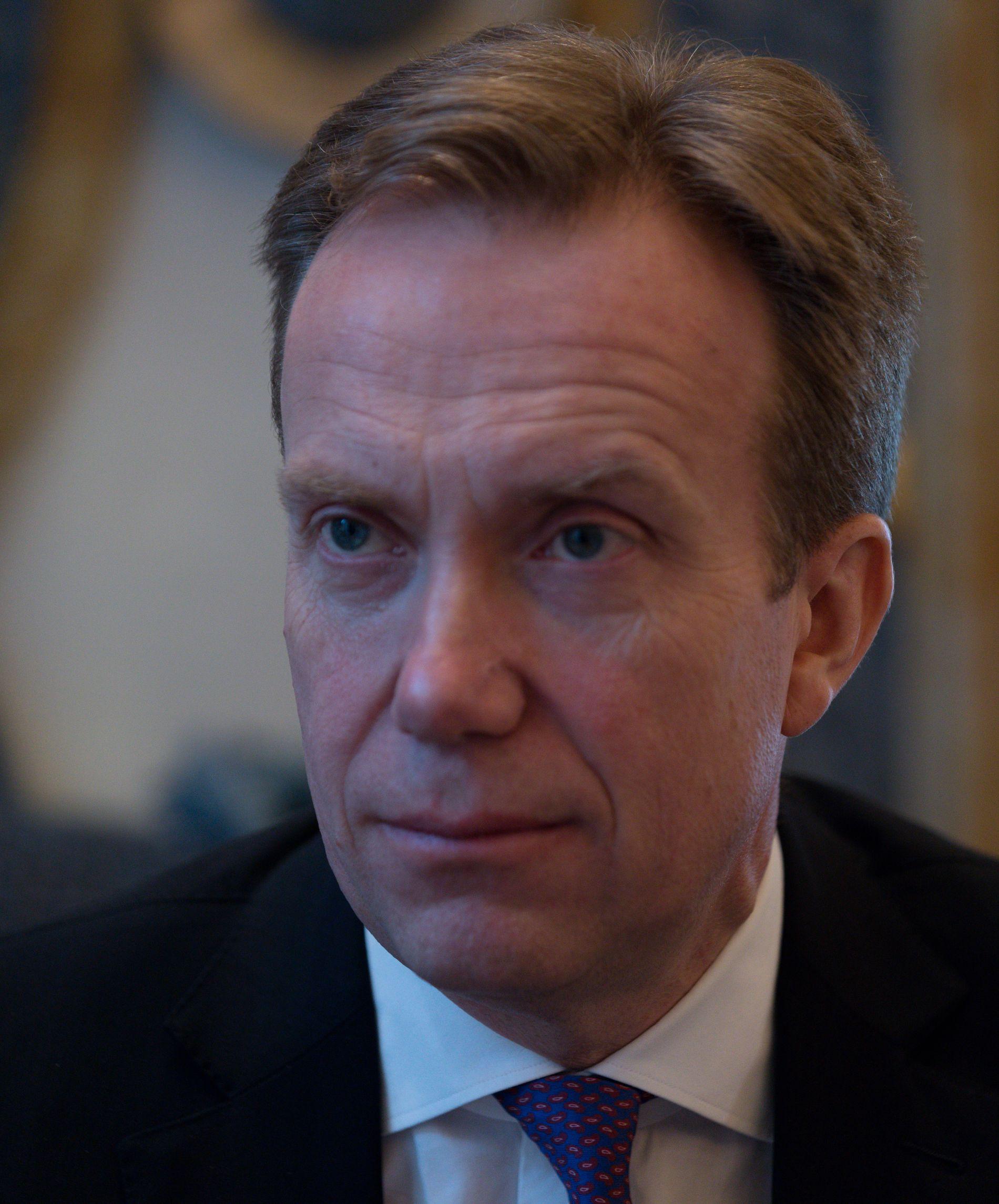 Børge Brende, utenriksminister (H).