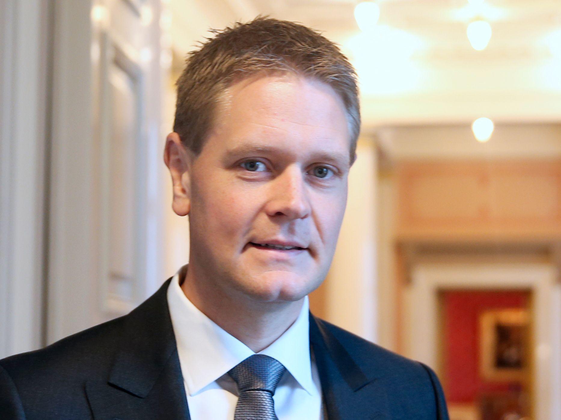 Harald Solberg, administrerende direktør i Rederiforbundet.