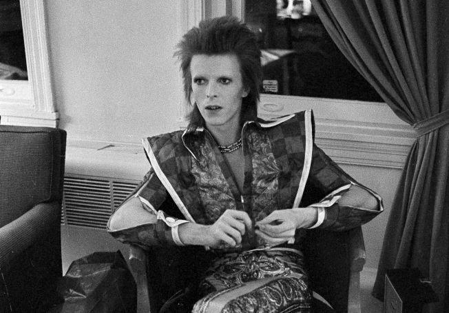 ALTER EGO: David Bowie som Ziggy Stardust i Philadelphia, i 1972.