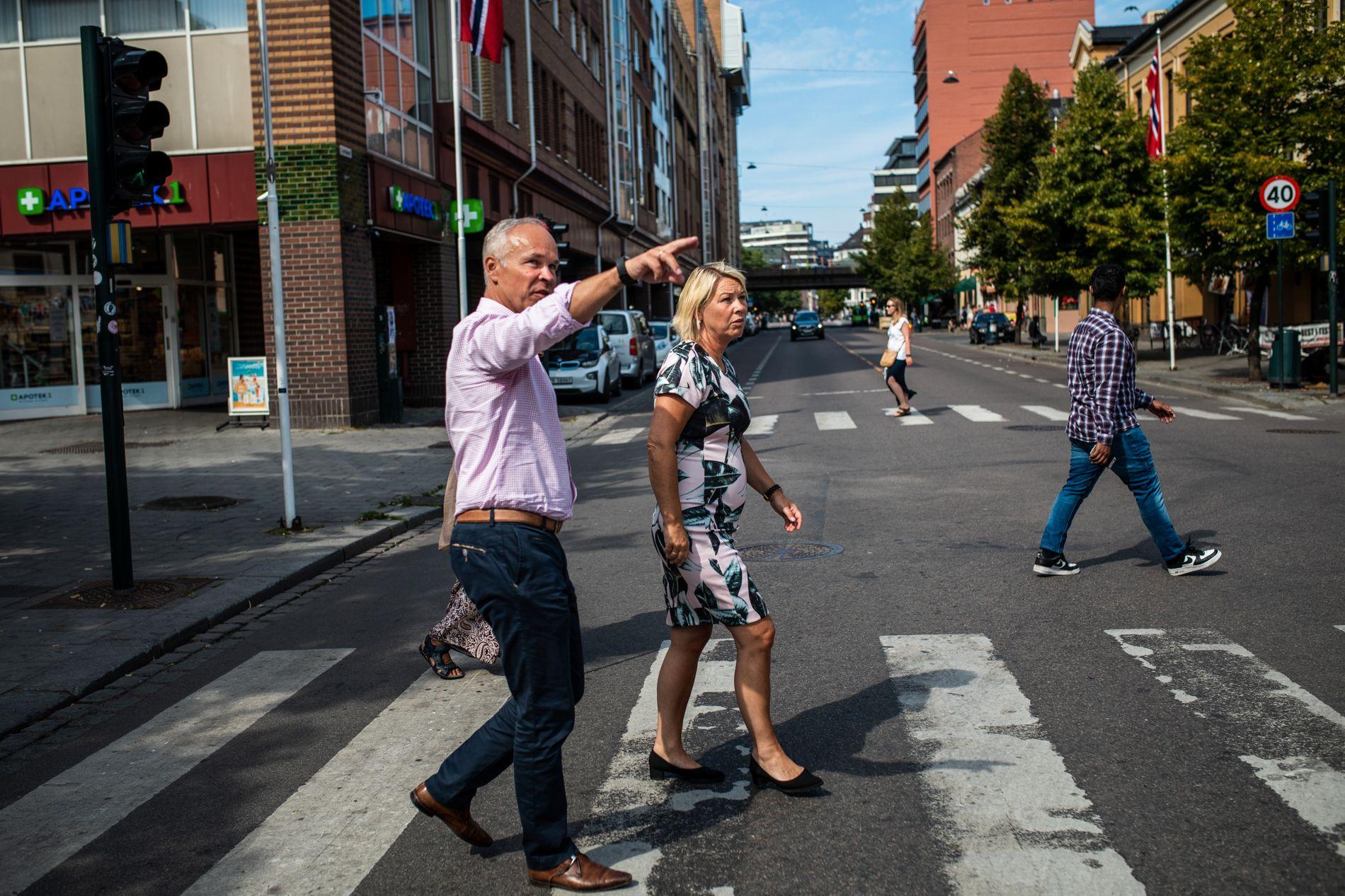 KUNNSKAP: Integreringsminister Jan Tore Sanner (H) og kommunal- og moderniseringsminister Monica Mæland (H) sier at de ikke har hatt nok kunnskap om utfordringene rundt levekår og integrering i Norge, og at utfordringene har endret seg.