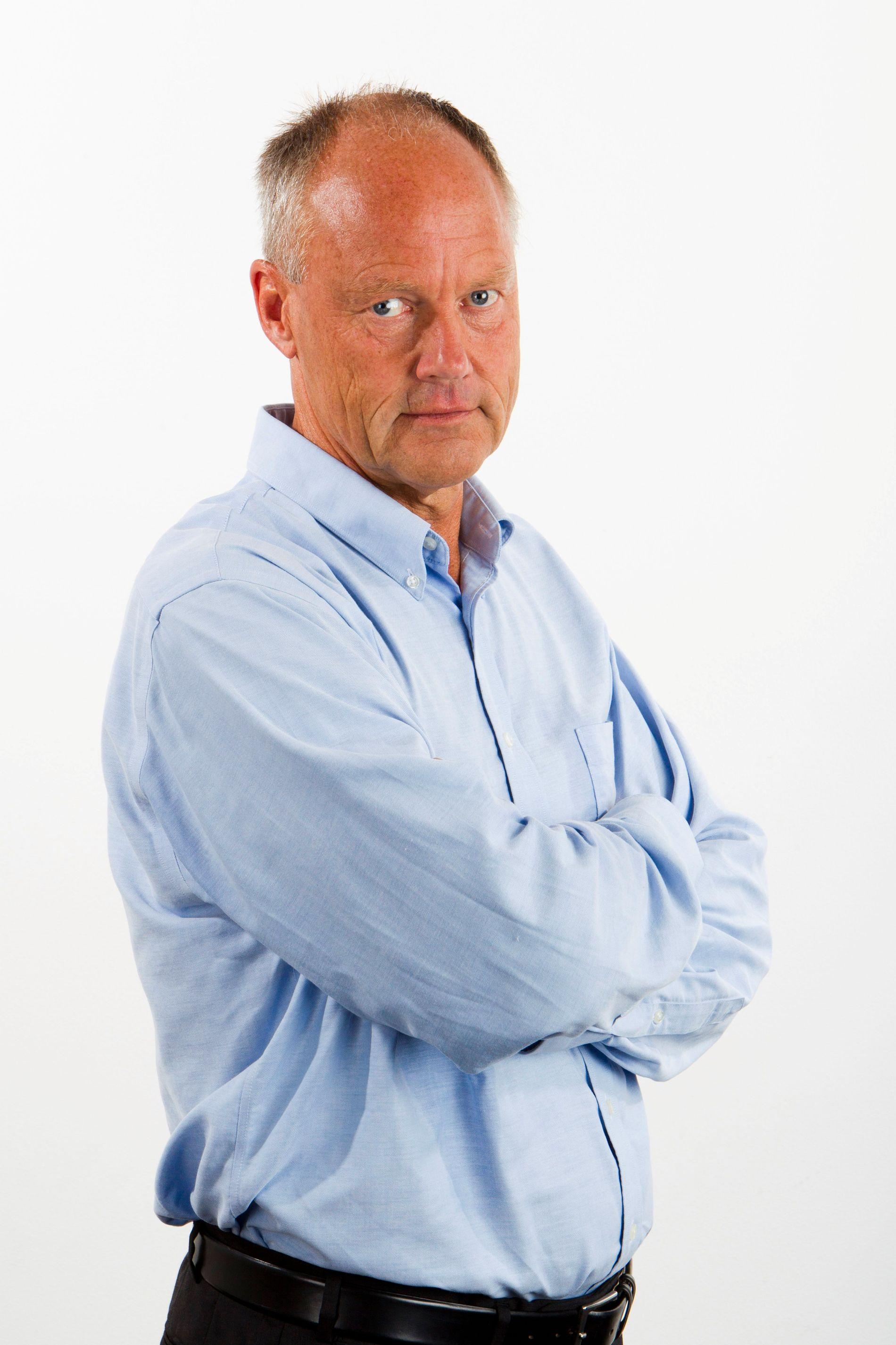 KRITISK TIL DNB: Petter Gottschalk er professor på BI.
