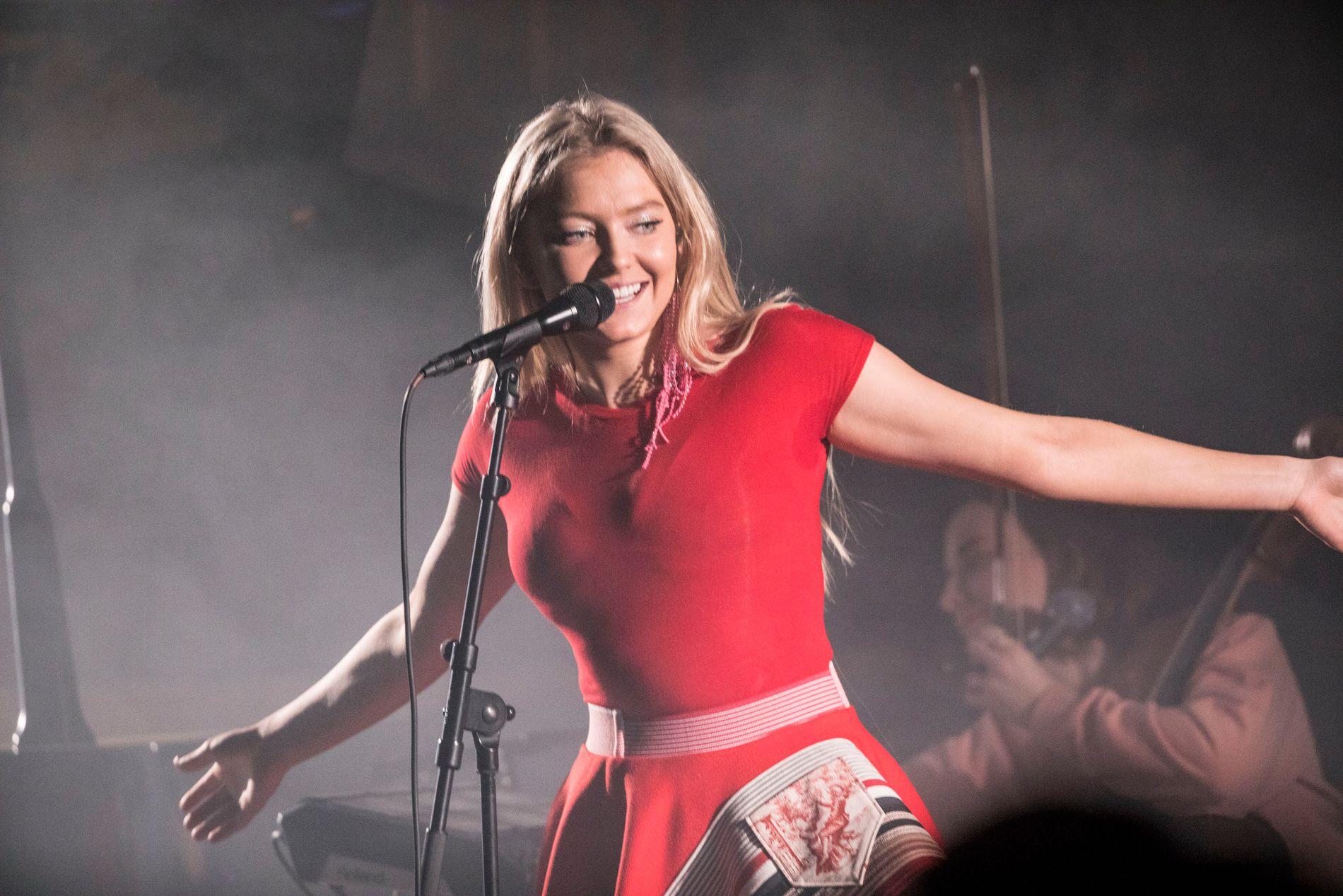 POPULÆR: Astrid Smeplass, her på Bylarm i kulturkirken Jacob, har 6,9 millioner ukentlige lyttere på Spotify.