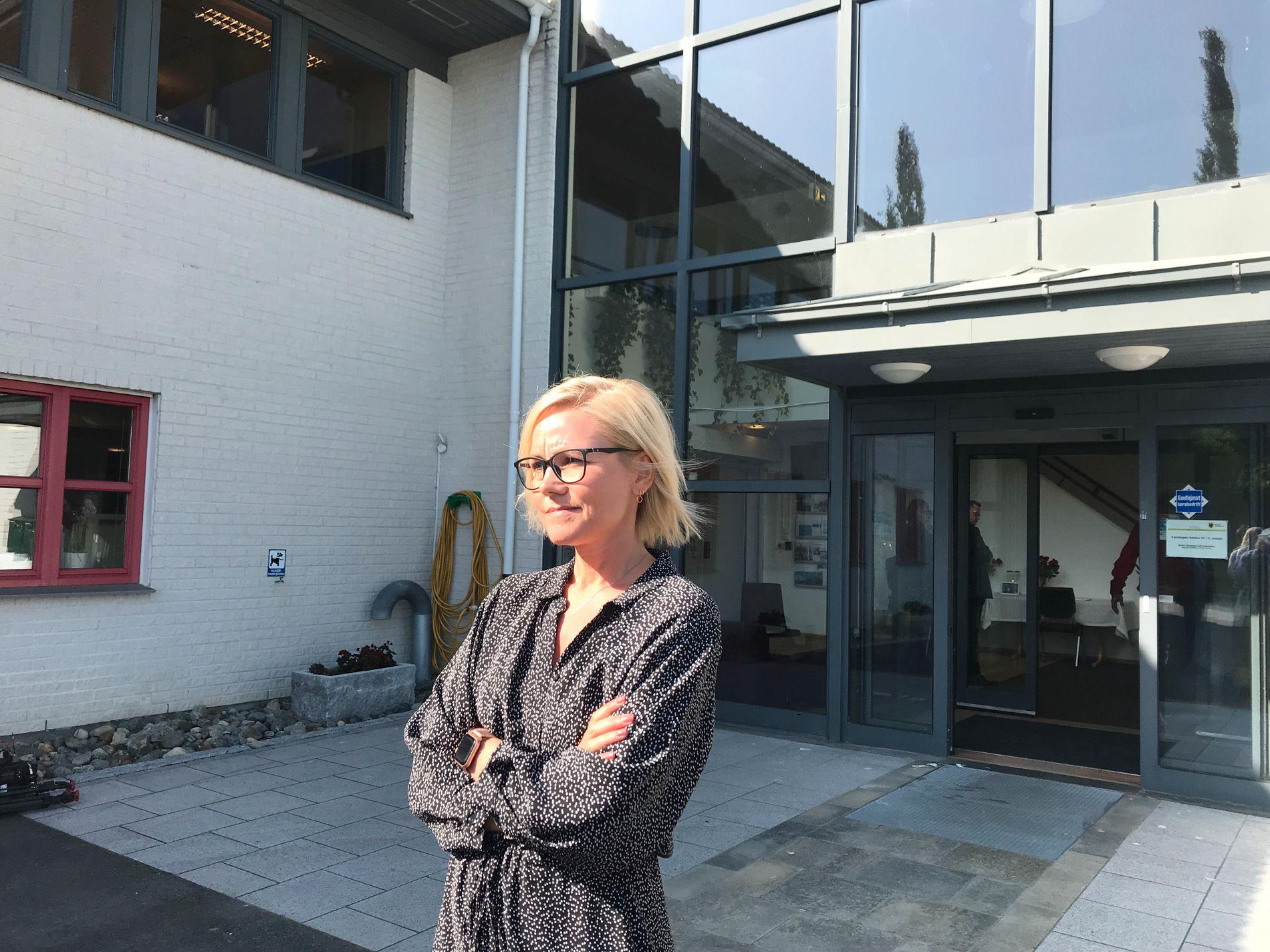 SKREV OM VENNSKAPET: Stortingsrepresentant Ingvild Kjerkol trakk fram Ingrid Aunes energi da hun skrev i protokollen.