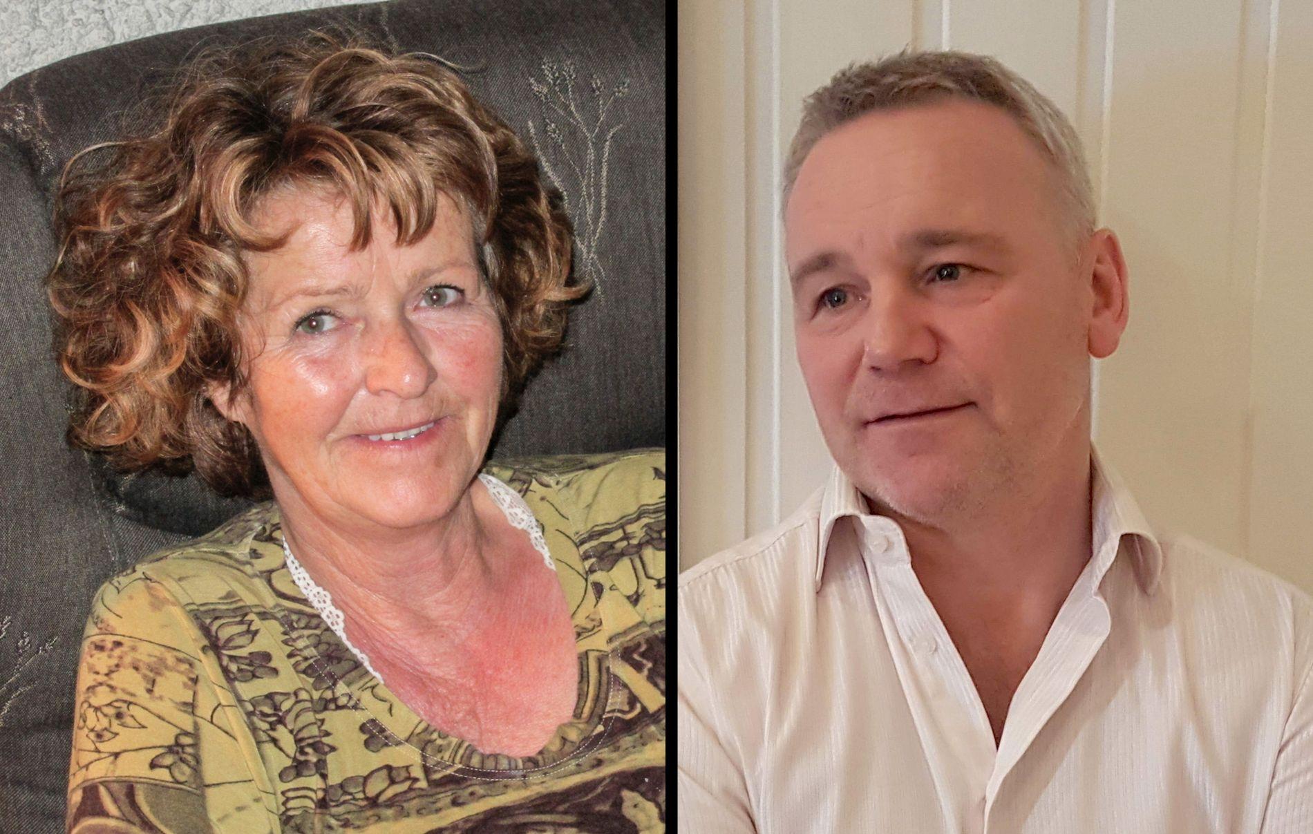 MØTTES: Anne-Elisabeth Falkevik-Hagen og Glenn Hartmann-Hansen møttes bare to dager før forsvinningen.