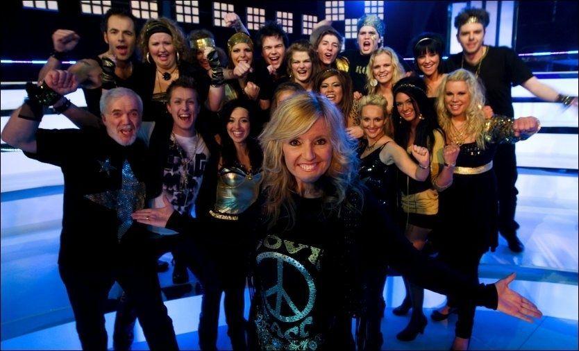 VANT: Team Hanne sang seg til seier i «Det store korslaget». Foto: TV 2
