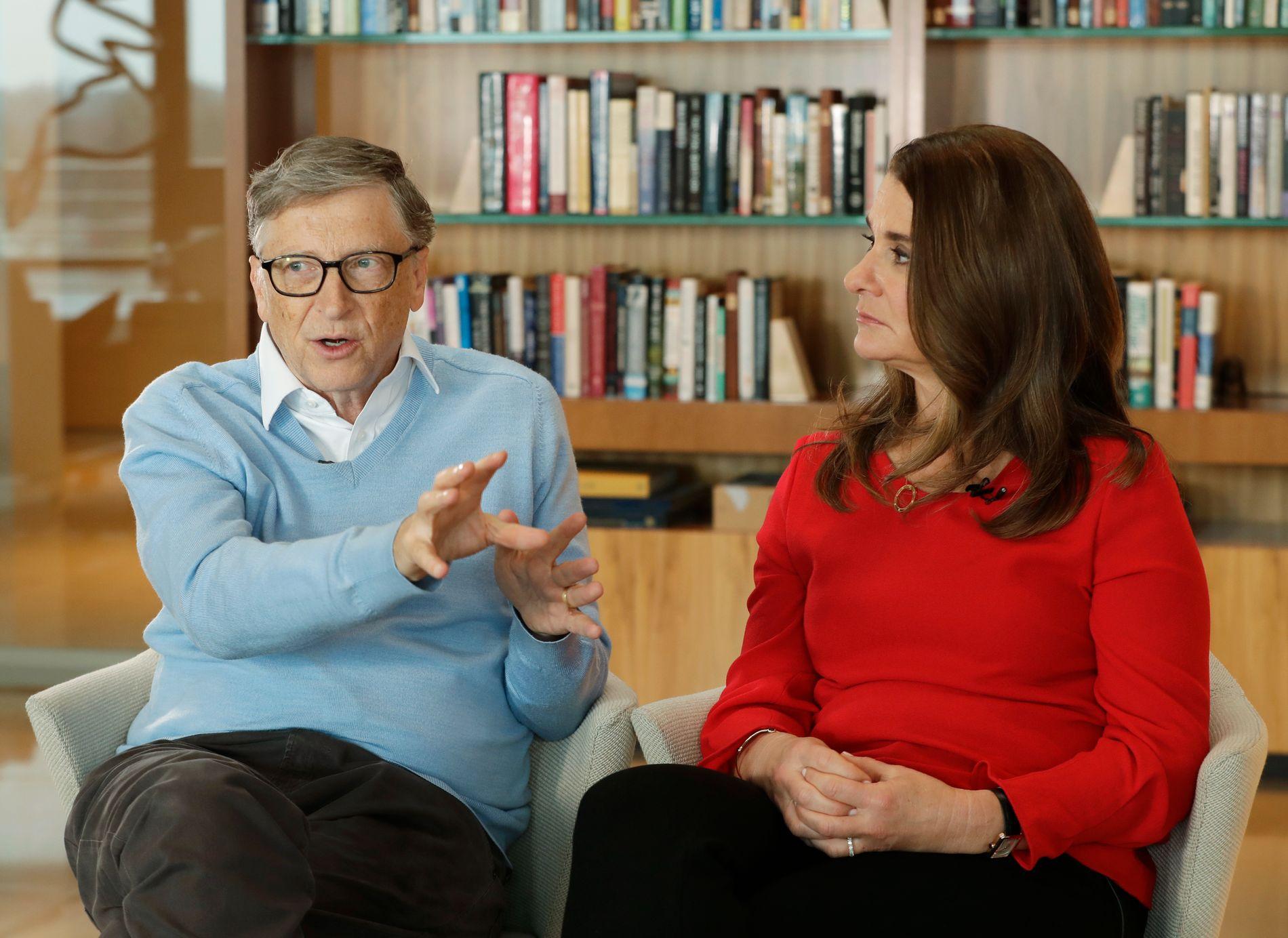 LIKTE IKKE KOMMENTAR OM DATTEREN: Bill Gates fortalte at i det første møtet med Donald Trump hadde temaet vært datteren til IT-nestoren. Det hadde kona Melinda ikke likt spesielt godt.