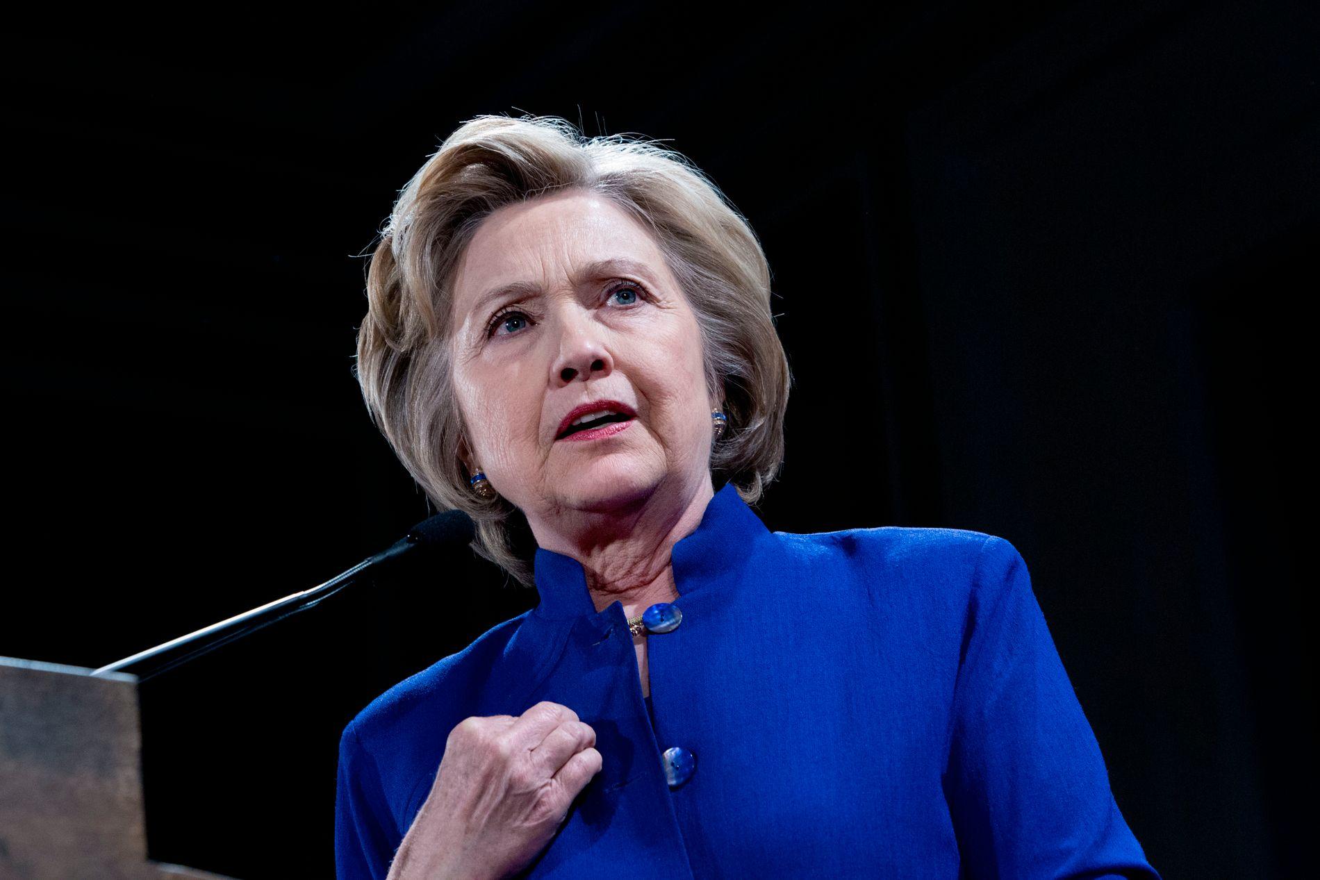 FORBEREDT: Hillary Clinton bruker mesteparten av tiden denne uken til å forberede seg til kamp mot Donald Trump, ifølge amerikanske medier. FOTO: THOMAS NILSSON/VG