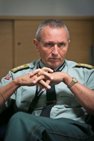 ETTERRETNINGSSJEF: Generalløytnant Kjell Grandhagen.