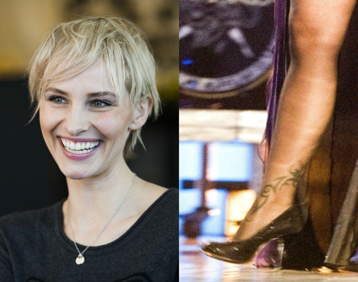 TRIBAL: Anne Rimmen lovet seg selv å aldri ta flere tatoveringer etter at hun fjernet tribaltatoveringen i 2012.