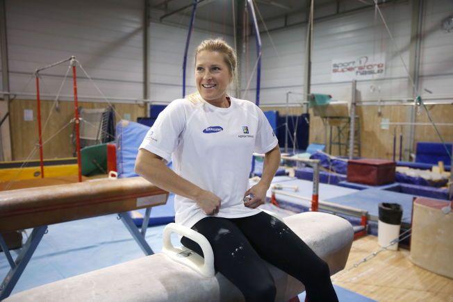 a69a03b5 Tidligere var hun en av Norges mest allsidige tioppidrettsutøvere, og  hevdet seg i flere idretter. Foto:Trond Solberg,VG