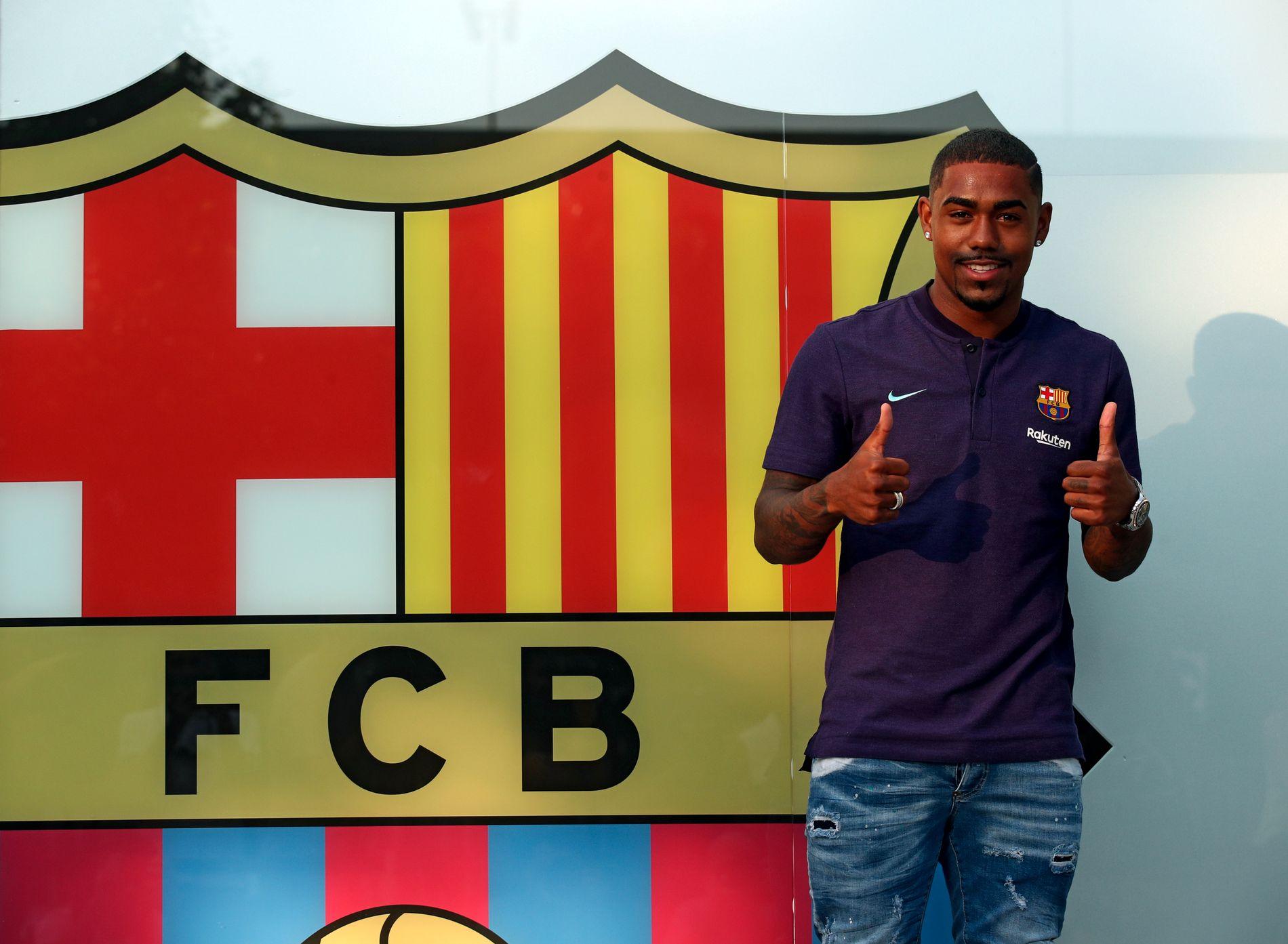 BARCA-KLAR: Barcelona «kuppet» Romas Malcom-handel.