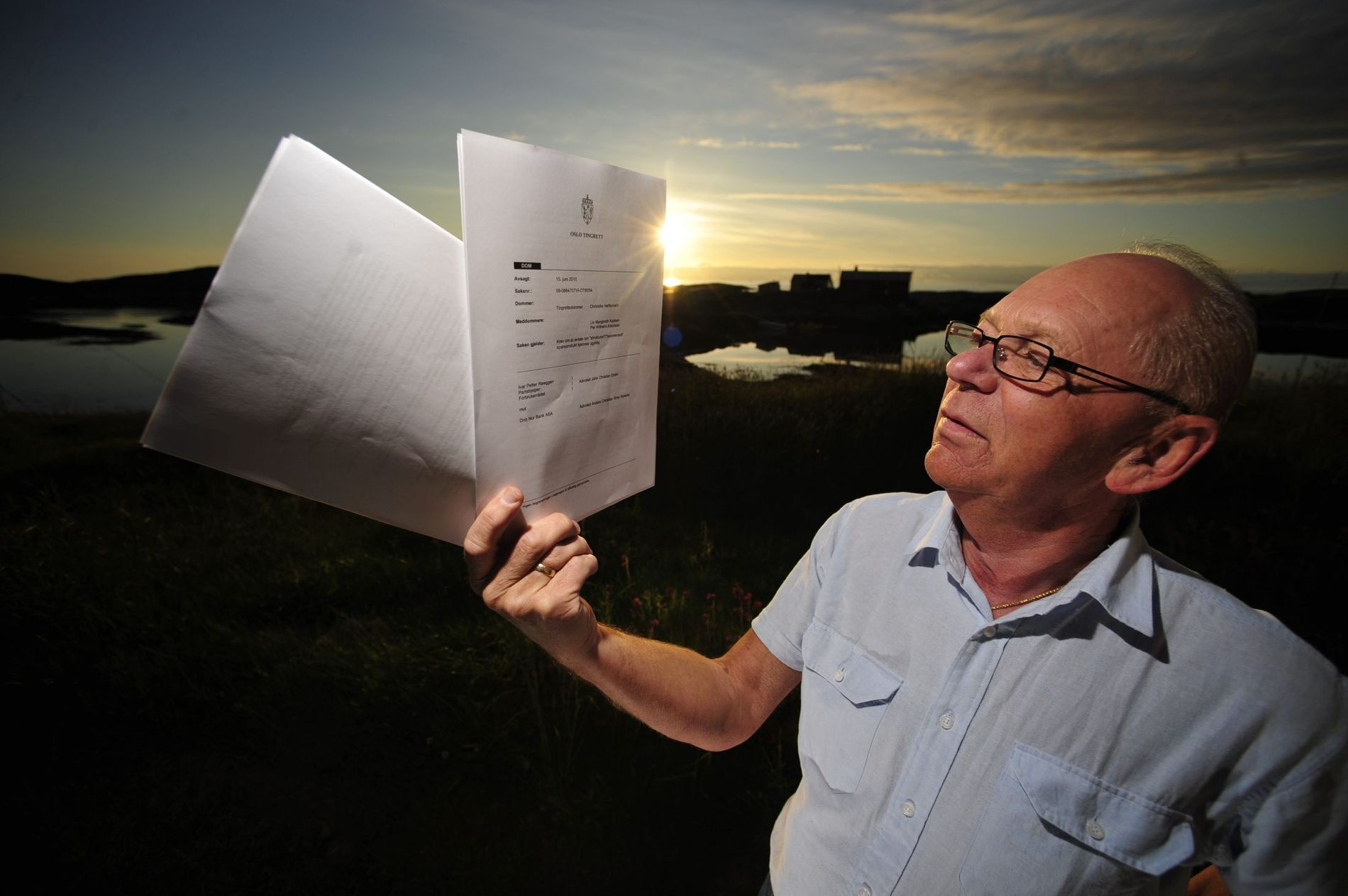 DNB vs. BANKKUNDE: Hvis Høyesterett dømmer i Ivar Petter Røeggen favør, kan norske småsparere få utbetalt store summer. Da kan lignende saker klages inn for Bankklagenemnda.