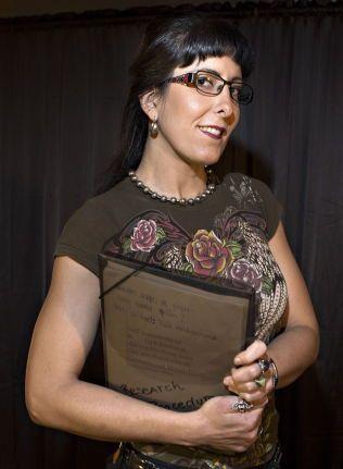 FORSKER: Andrea Duarte Silva har allerede en bachelor i Psykologi fra Princeton i USA, bygger nå på med en master ved Universtitetet i Oslo, om hvordan smerte som er frivillig påført gjennom BDSM påvirker den psykiske helsen.