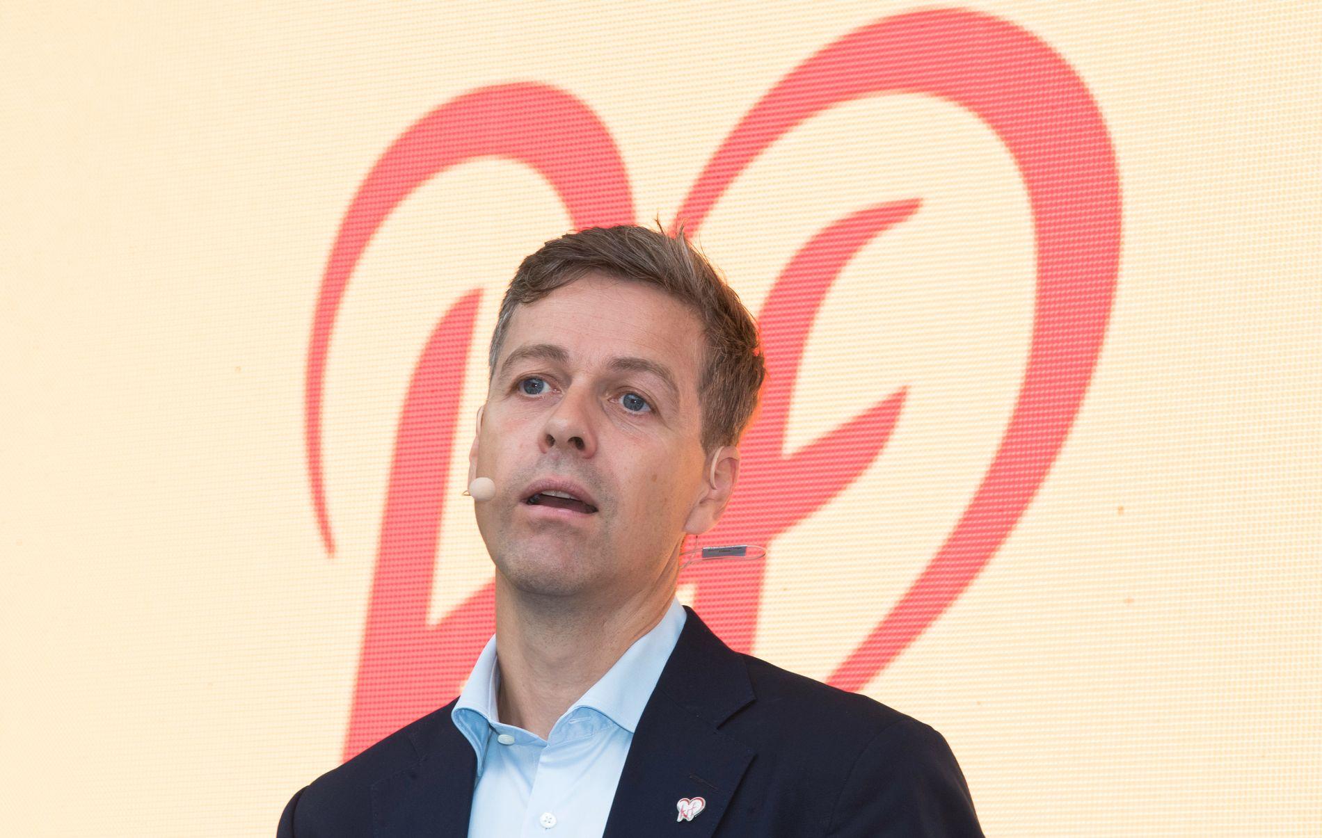 FOR DÅRLIG: 3,7 prosent er for dårlig, sier KrF-leder Knut Arild Hareide.