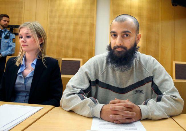 I VARETEKT: Ubaydullah Hussain har sittet 12 uker i varetektsfengsel.