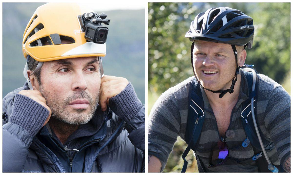 REALITYKJENDISER: Jan Thomas og John Arne Riise reiste begge hjem fra «71 grader nord - Norges tøffeste kjendis» frivillig.