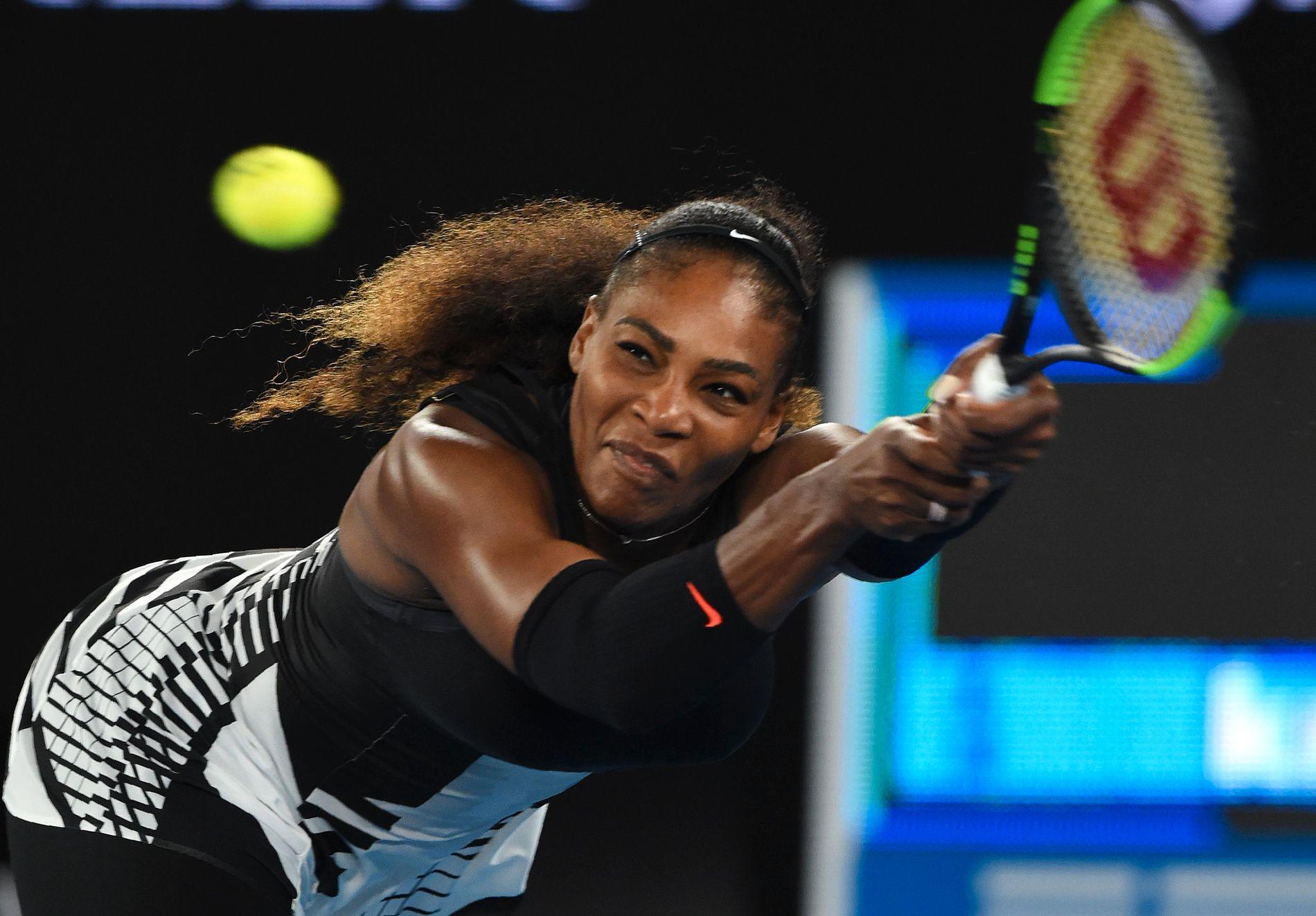 KOMMER TILBAKE: 36 år gamle Serena Williams blir igjen å se på tennisbanen under Fed Cup i North Carolina i februar.