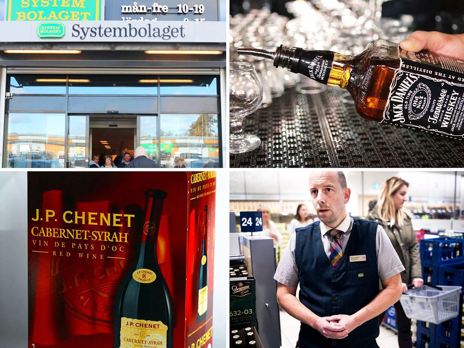 ØKER MEST: Grensehandelen på Systembolaget gjør et nytt byks. Her fra det svenske vinmonopolets utsalg i Strömstad.