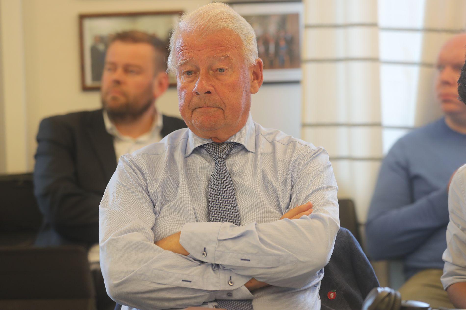 UENIG: Frp-profil Carl I. Hagen vil ikke stemme for handlingsprogrammet for Oslopakke 3.