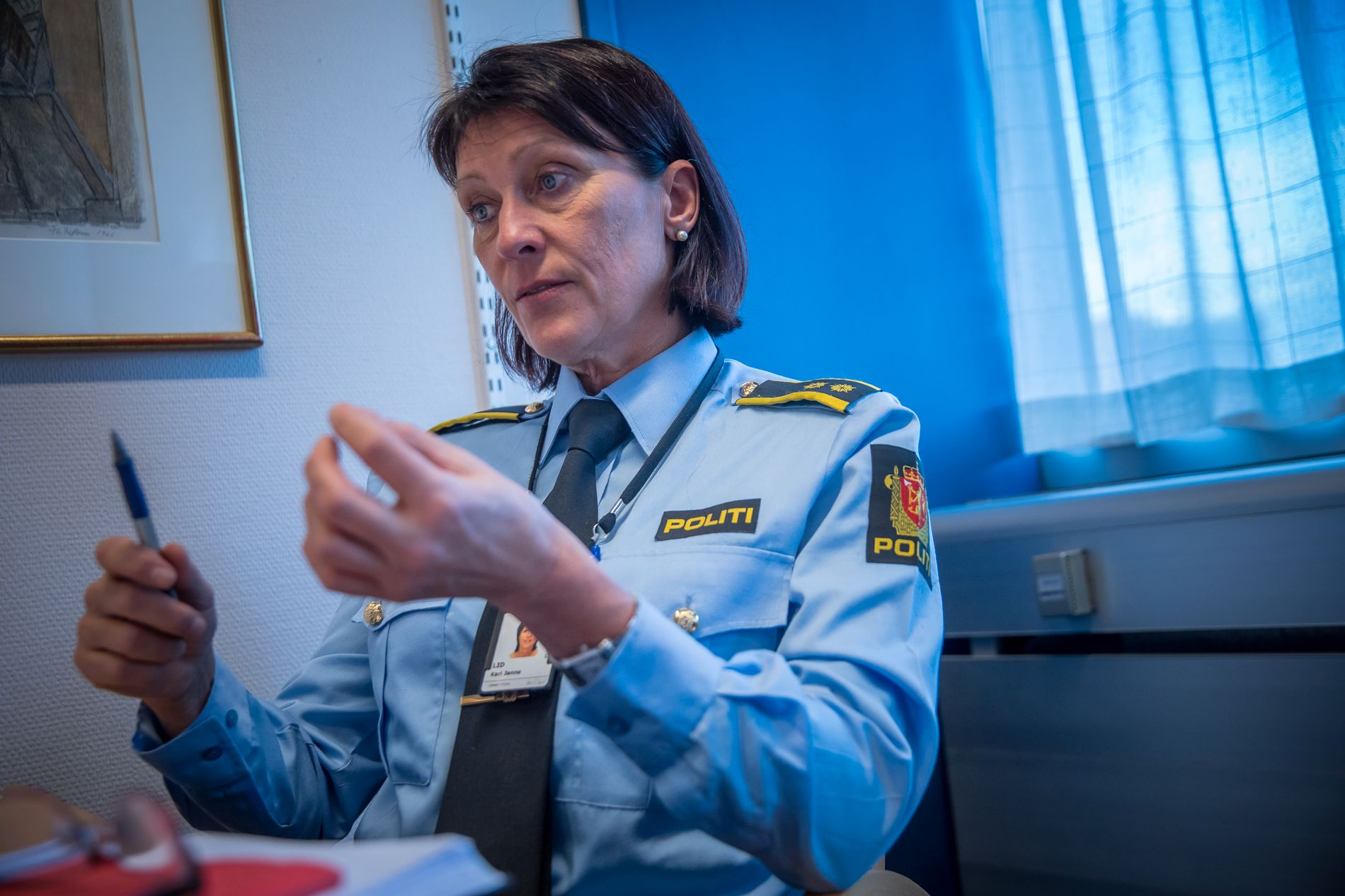 OPPLEVER KRAFTIG ØKNING: Kari-Janne Lid leder Oslo-politiets seksjon for etterforskning av alvorlige seksuallovbrudd, og forteller om en kraftig økning i antall saker som omhandler barn.