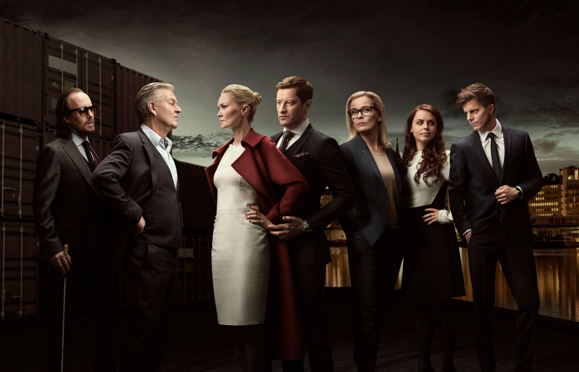 GALGENHUMOR: Advokatene i «Aber Bergen» kommer tilbake på skjermen. FOTO: Rune Bendiksen/TV3