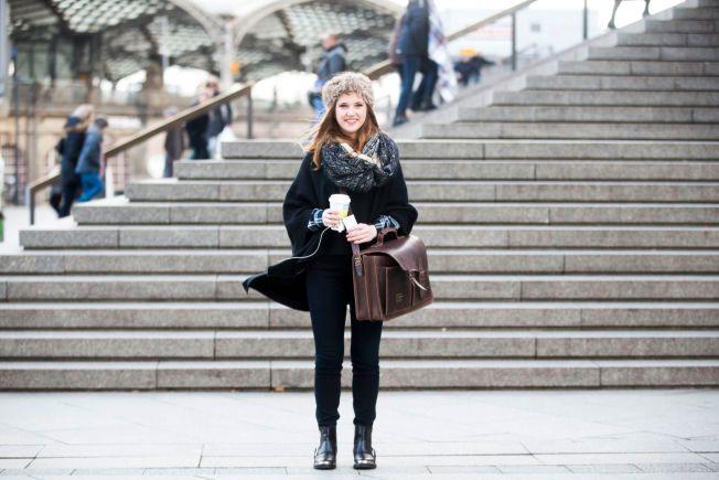 IKKE REDD: Legestudent Eva Christiani (19) er ikke blitt redd for å bevege seg i Köln etter masseovergrepene.