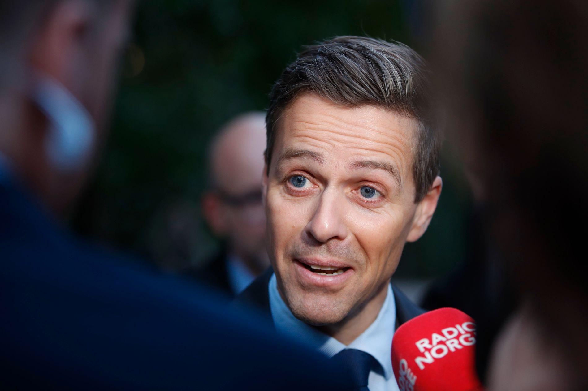 VIL IKKE ENDRE: KrF-leder Knut Arild Hareide. Her på et bilde fra september i fjor.