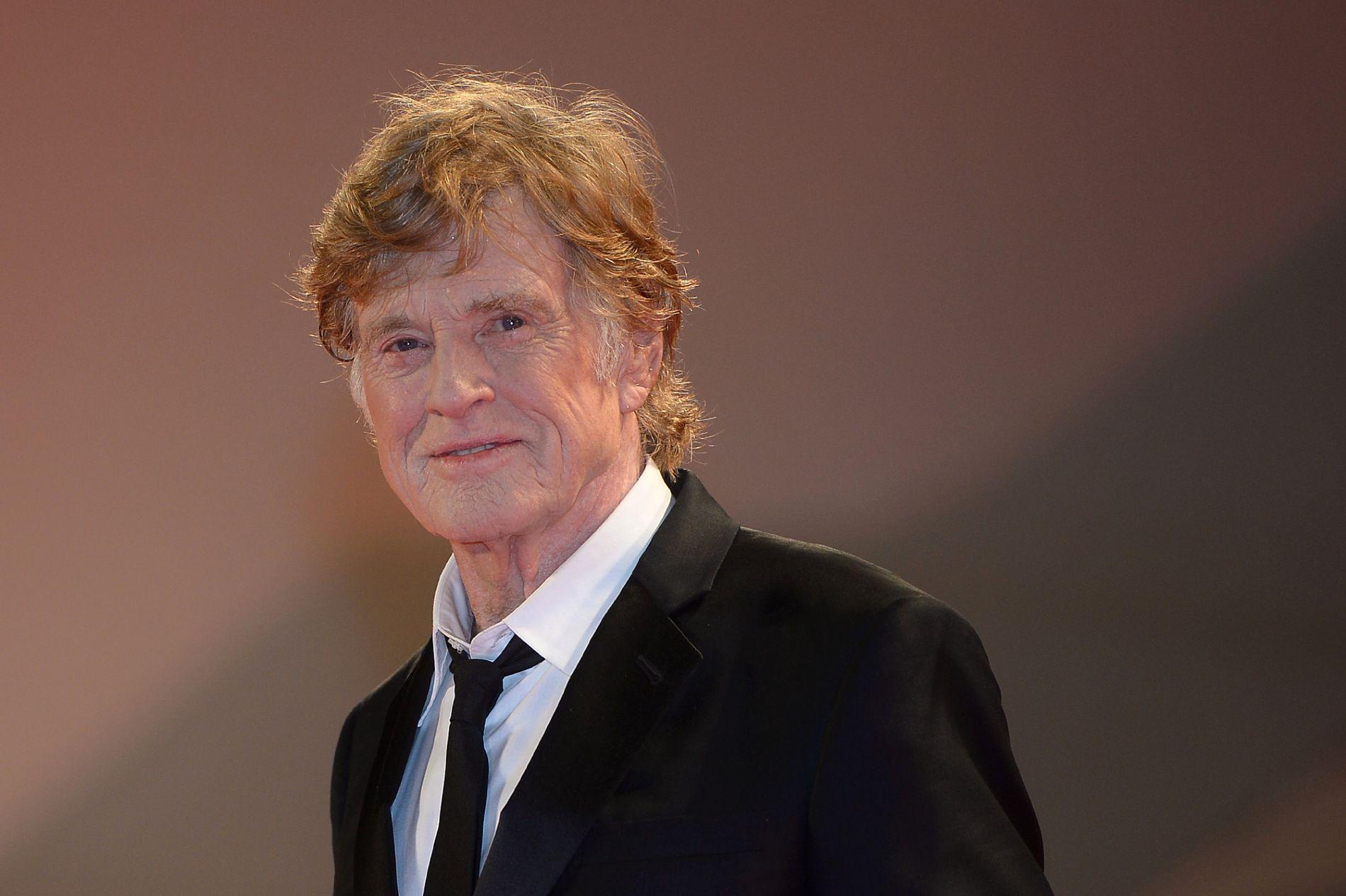 LANG KARRIERE: Redford begynte som skuespiller på slutten av 50-tallet. Her er han avbildet på filmfestivalen i Venezia i 2017.