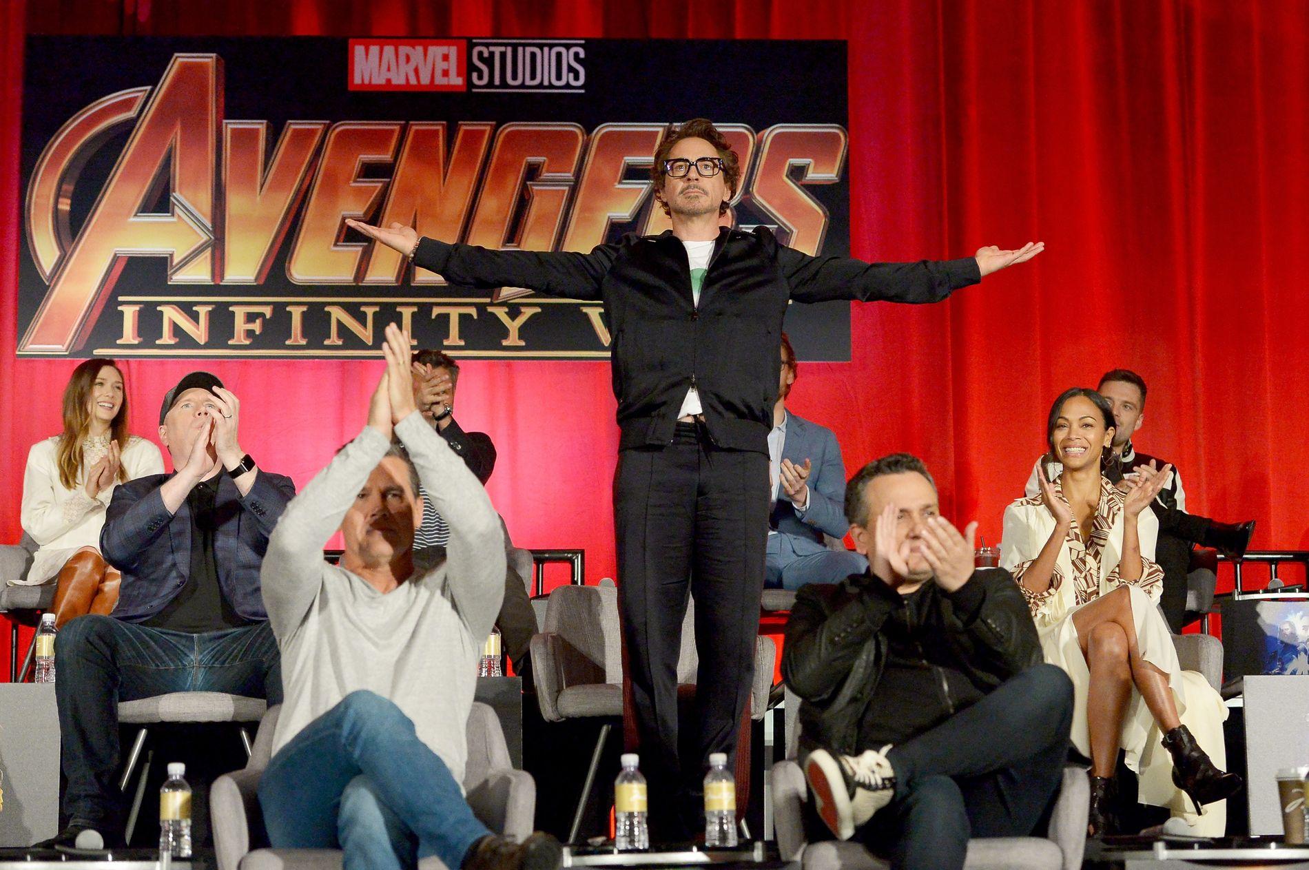 AVENGERS PÅ TOPP: Avengers: Infinity War håvet inn mest for Hollywood i 2018.