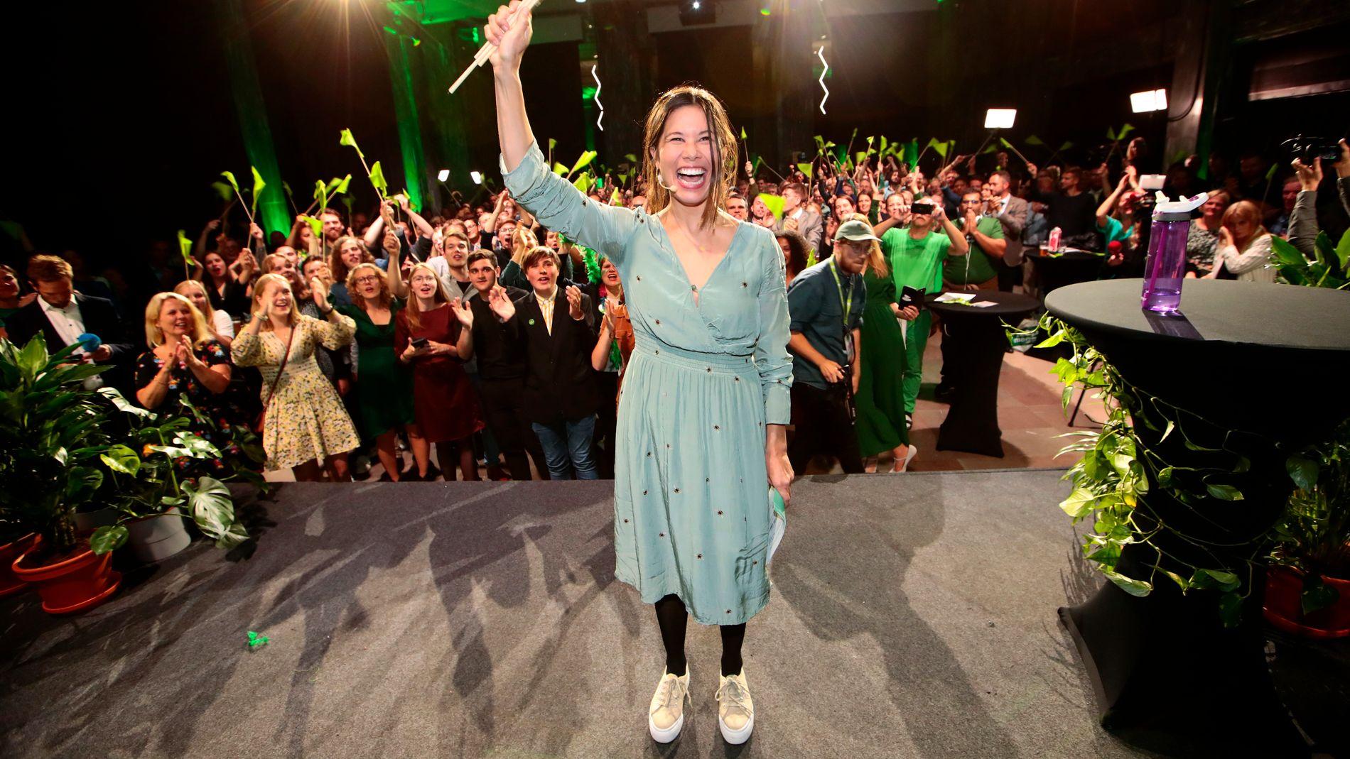 DYR I DRIFT? Lan Marie Berg og Miljøpartiet De Grønne (MDG) var de store vinnerne i Oslo, og fikk også et nasjonalt gjennombrudd. Hva har det å si for den offentlige pengebruken?