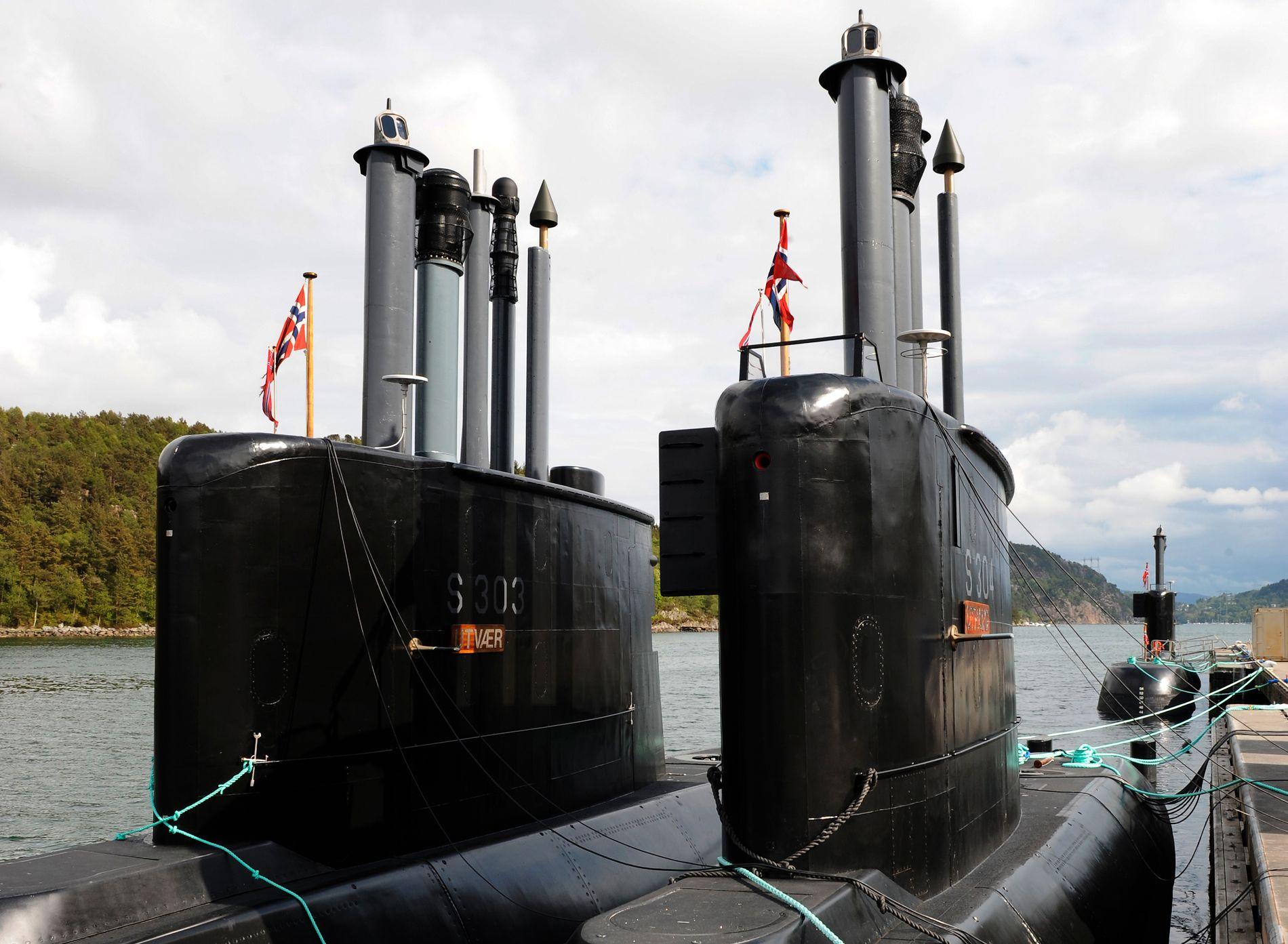 ULA-KLASSEN GOODBYE: Norge har seks ubåter av Ula-klassen, men har bestilt fire nye tyske ubåter av HDW-212-klassen. Fregattforliset kan gjøre at dette tallet økes.