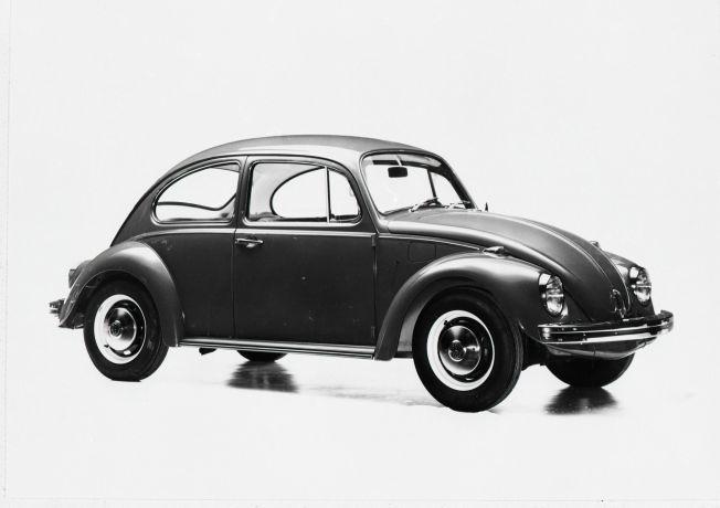 BESTSELGER: I 1969 satt VW Beetle, også kalt boble, rekorden som den mest solgte nye bilmodellen på ett år.  Det ble solgte mer enn 16.000 nye bobler dette året.  Foto: Møllerarkivet