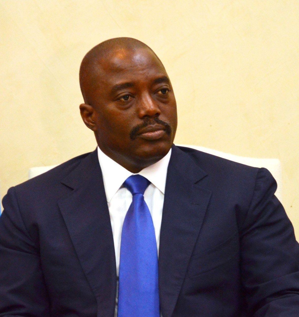 PRESIDENT: Kongos president Joseph Kabila.