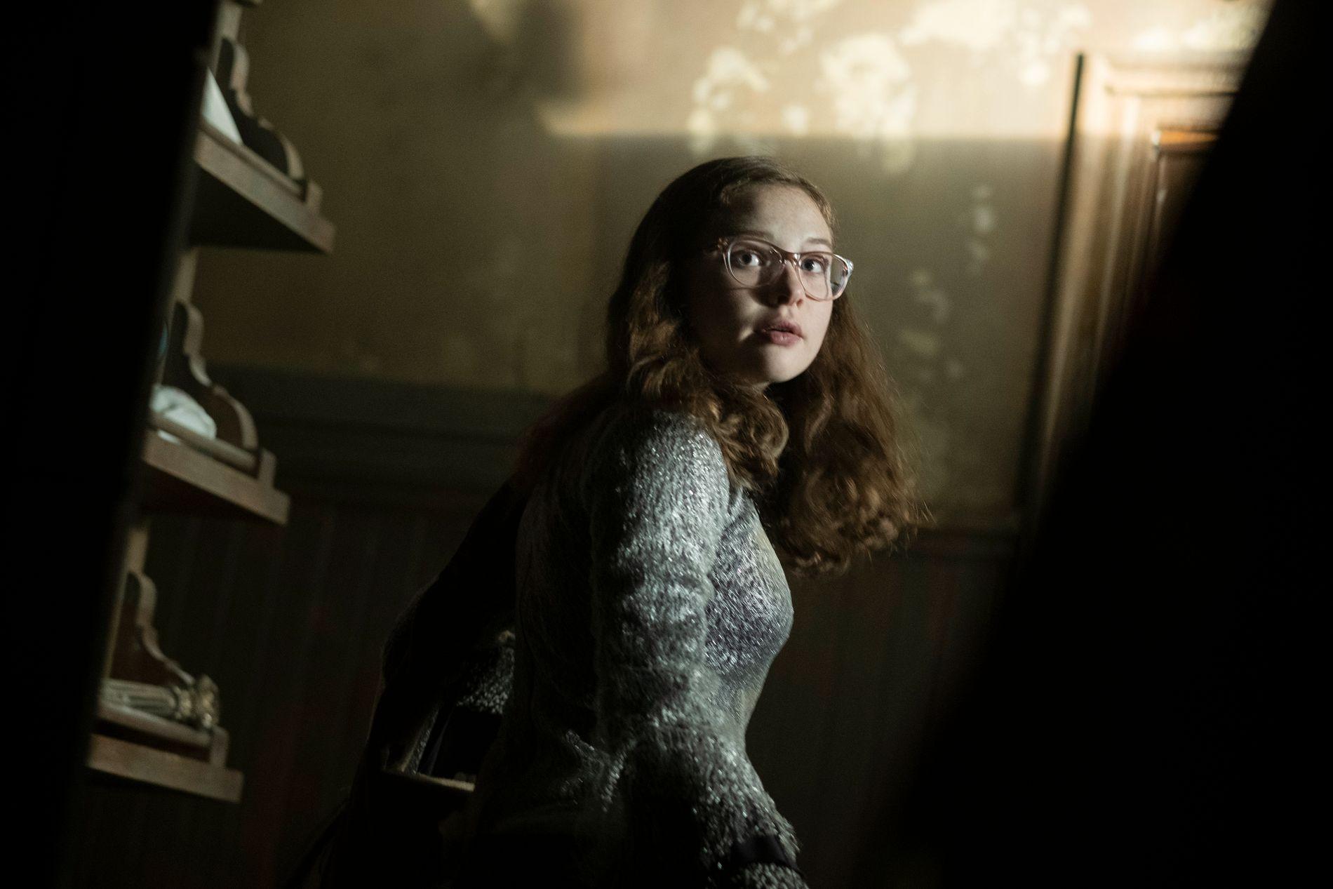 HELTINNE: Zoe Margaret Colletti er det beste med «Scary Stories To Tell In The Dark».