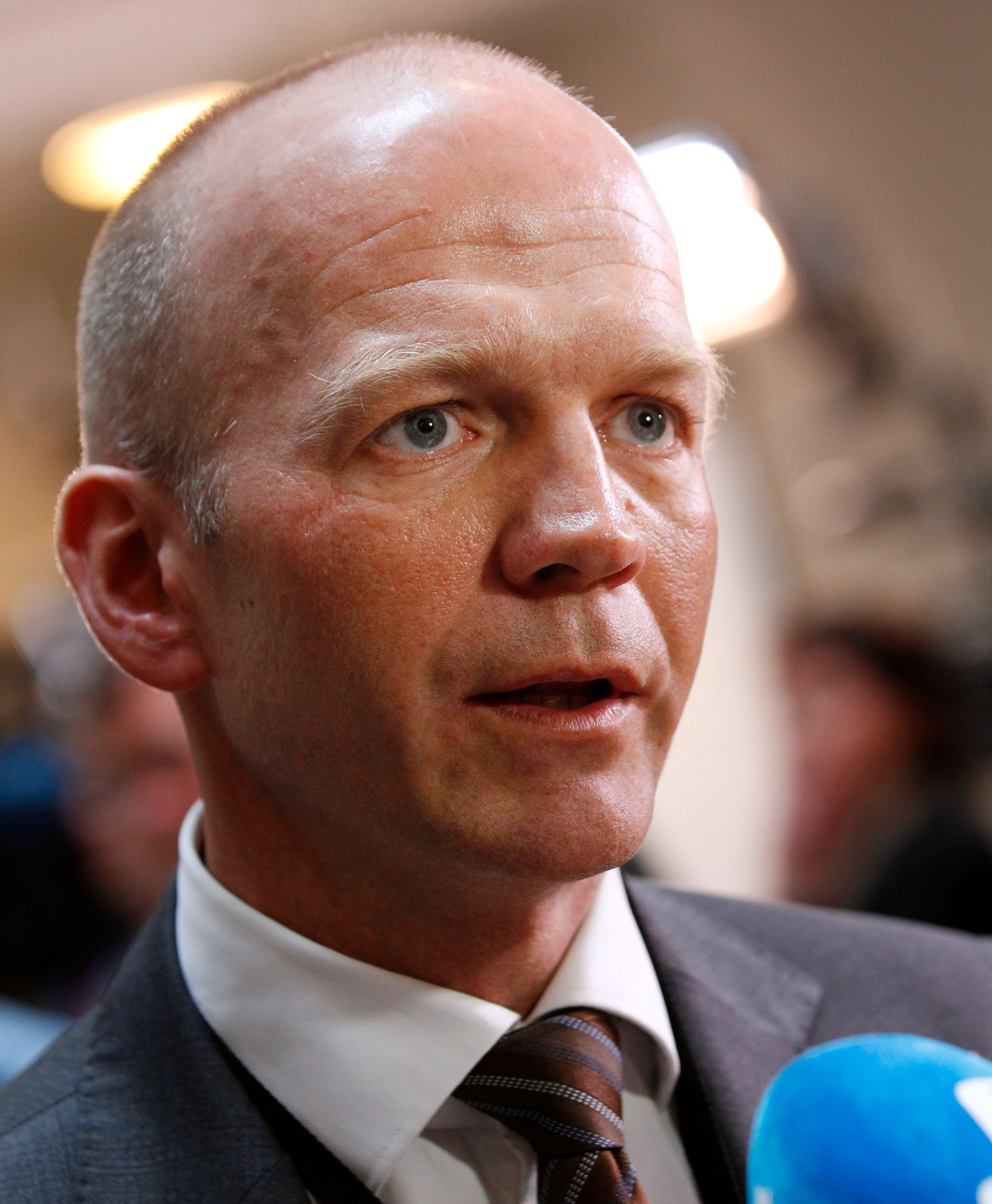 DELVIS FORNØYD: Bistandsadvokat Christian Lundin sier familien er lettet, men at de håpet på forvaringsdom. Her avbildet i 2012.
