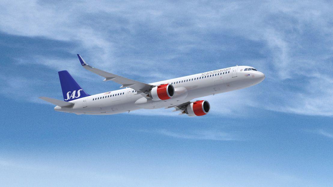 SAS bestiller nye fly: Skal ha inn tre av Airbus nye