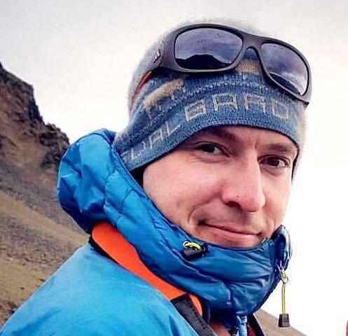 SJEFSGUIDEN: Mats McCombe er guideansvarlig på Svalbard.