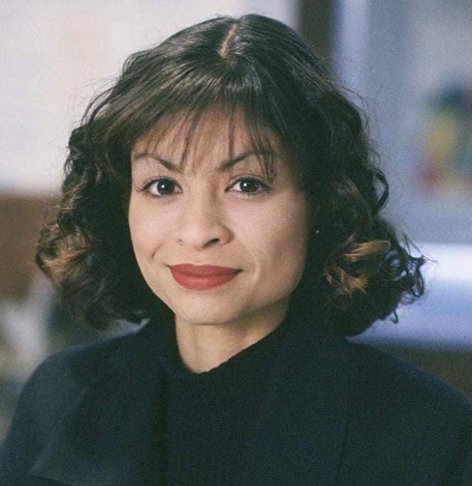 DREPT:  Vanessa Marquez slik hun så ut mens hun spilte  sykepleieren Wendy Goldman i TV-serien «Akutten»