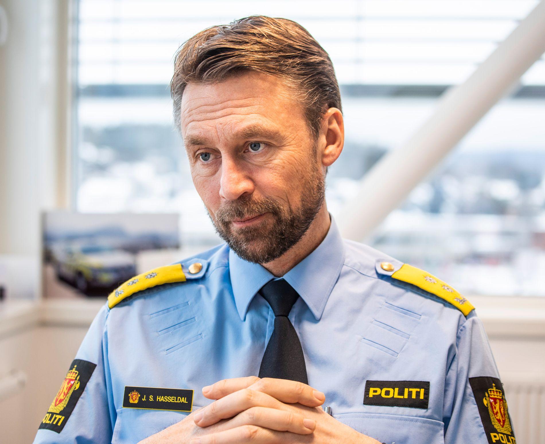 SJEF: Politimester Steven Hasseldal i Øst politidistrikt.