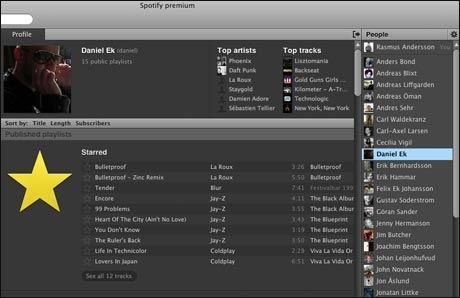 I nye Spotify kan du nå bygge din egen profil og hente både profilbilde og venner fra Facebook. Foto: Spotify