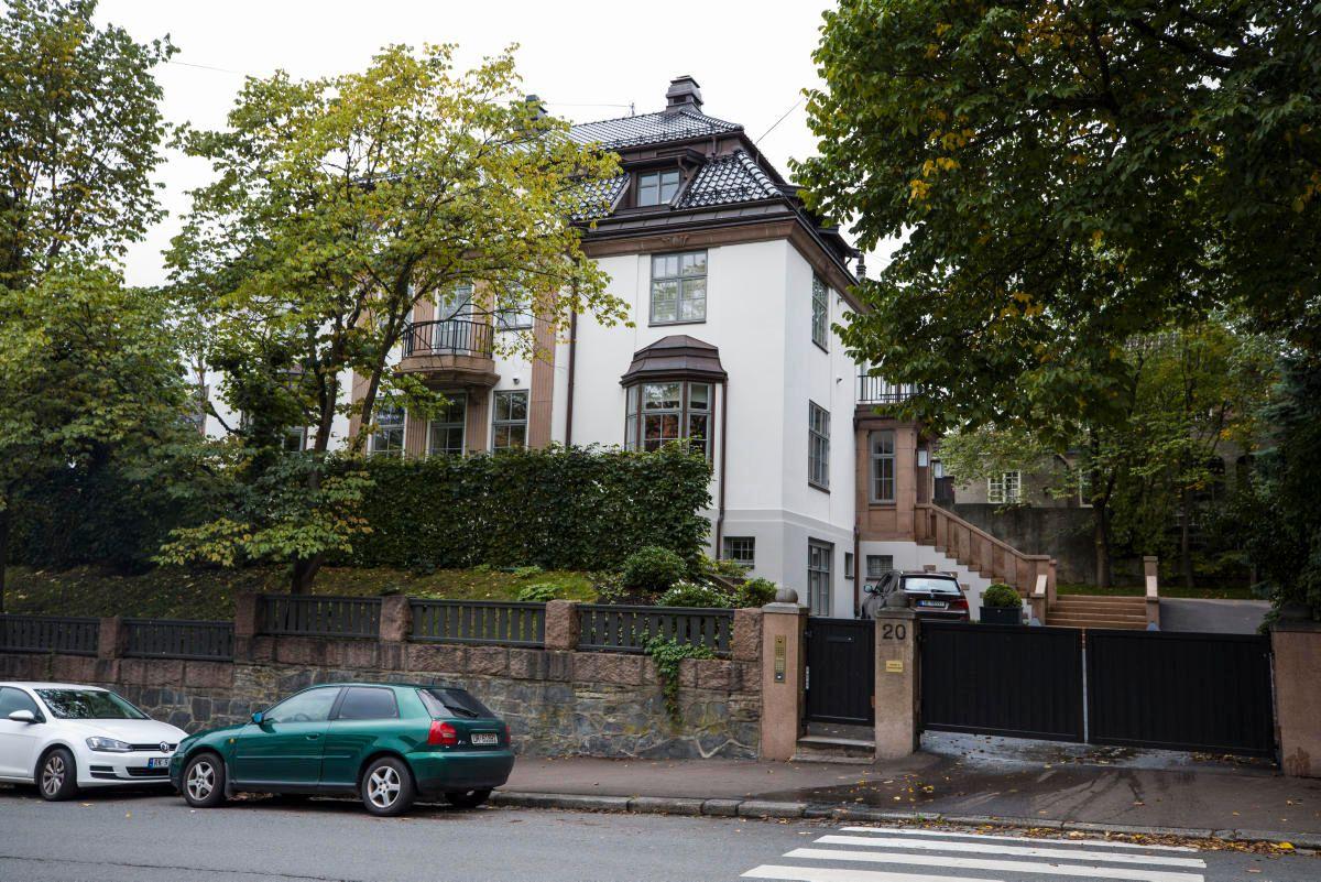 GIGANTBOLIG: Fasjonable Frederik Stangs gate 20 i Oslo er eid av Magnus Reitan, beliggende kort avstand fra brorens bolig.