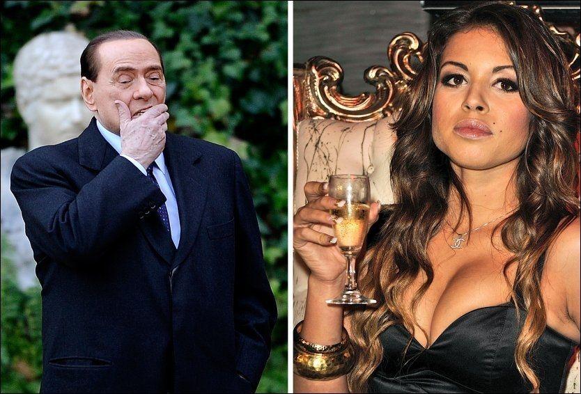 IKKE PÅ PLASS: Karima El Mahrou skulle vitne i en rettssak mot tidligere statsminister Silvio Berlusconi, men møtte ikke opp. Foto: AFP