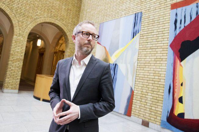 KRITISK: SV-nestleder Bård Vegar Solhjell er bekymret for utviklingen i norsk utenrikspolitikk.