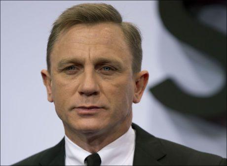 LEI: Daniel Craig vil gjøre andre ting enn å være agent 007. Foto: Gero Breloer/AP