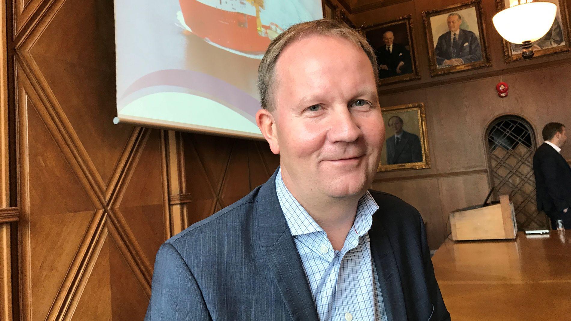 SLANKER GJELDEN: Konsernsjef Lars Peder Farstad i SolstadFarstad.