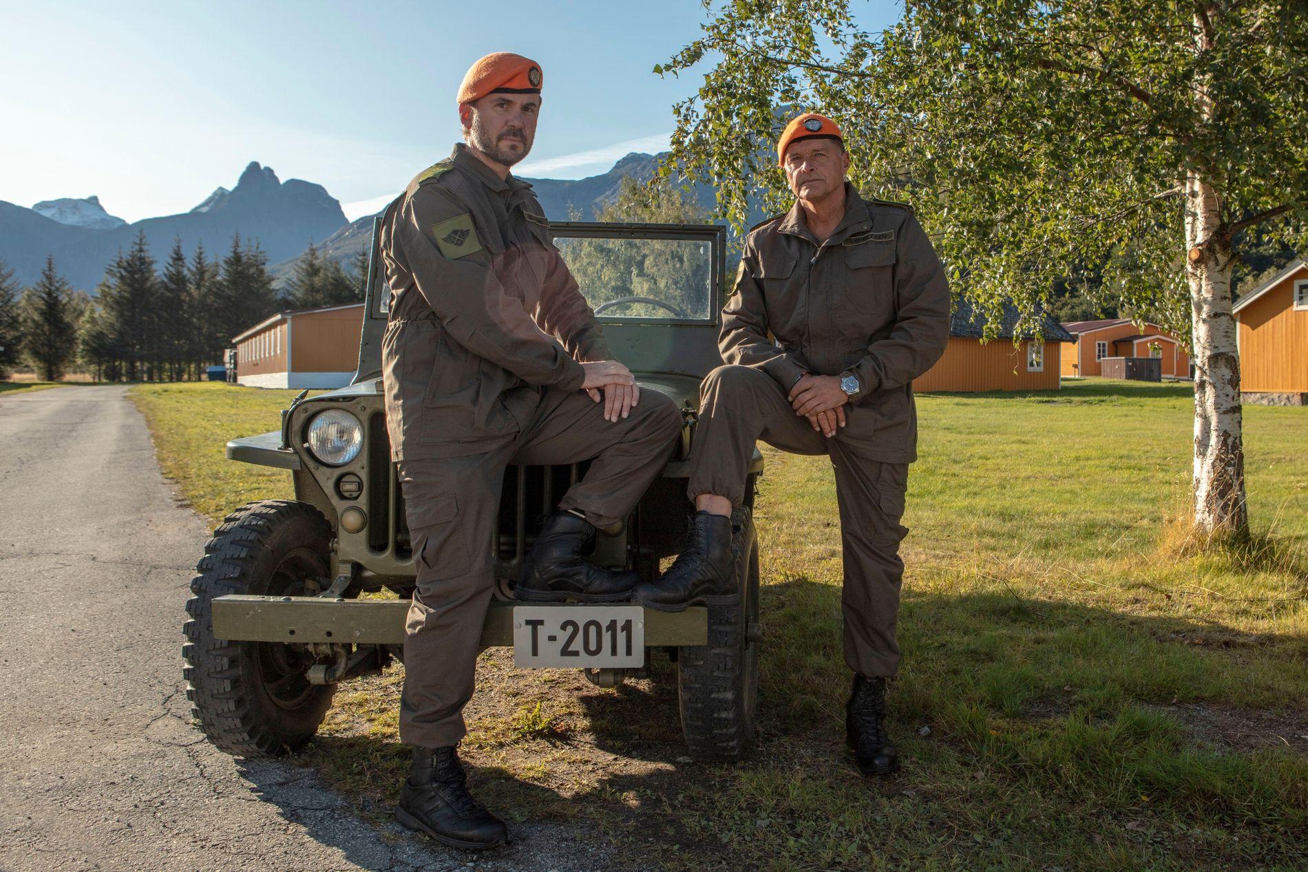 SPØK OG ALVOR: Dag Otto Lauritzen og Kristian Ødegård inviterer til den kanskje strengeste reality-serien i 2020 gjennom «Kompani Lauritzen».