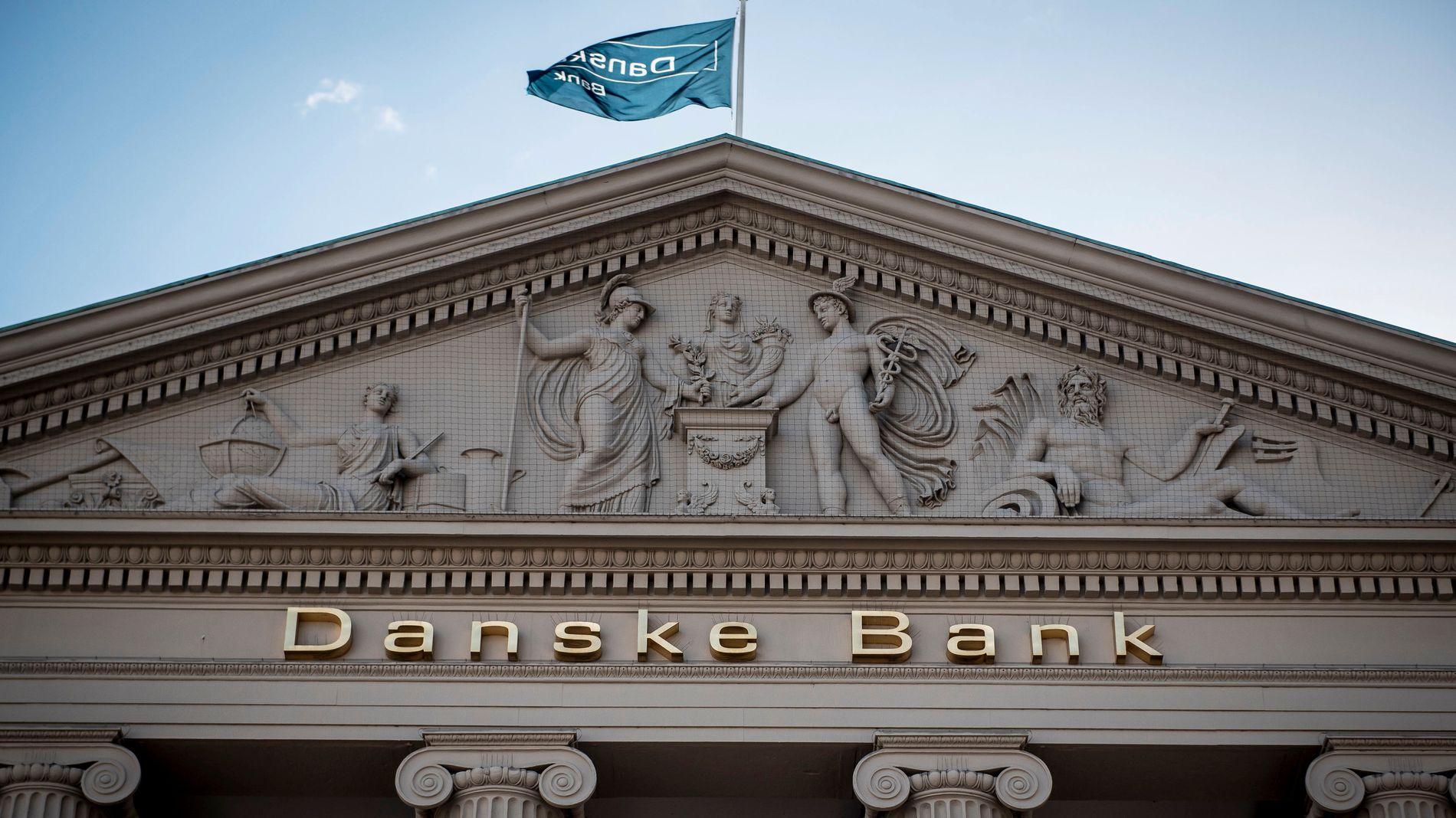 TØFT ÅR: 2018 har vært et svært vanskelig år for den danske storbanken.